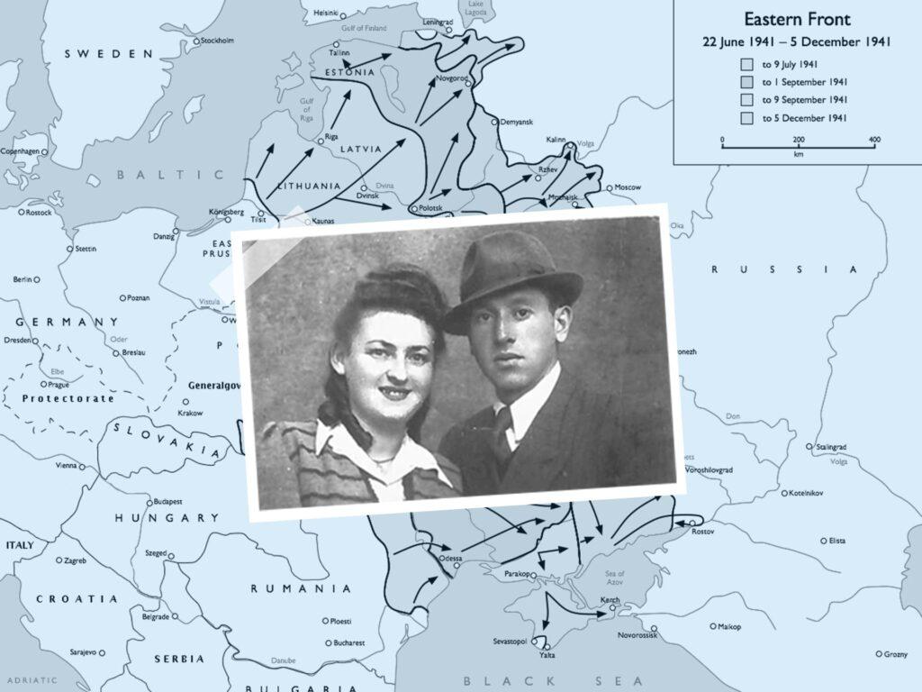 Eva Fogelman's parents