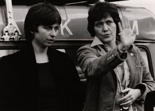 Myriam Abramowicz and Esther Hoffenberg. ©DR