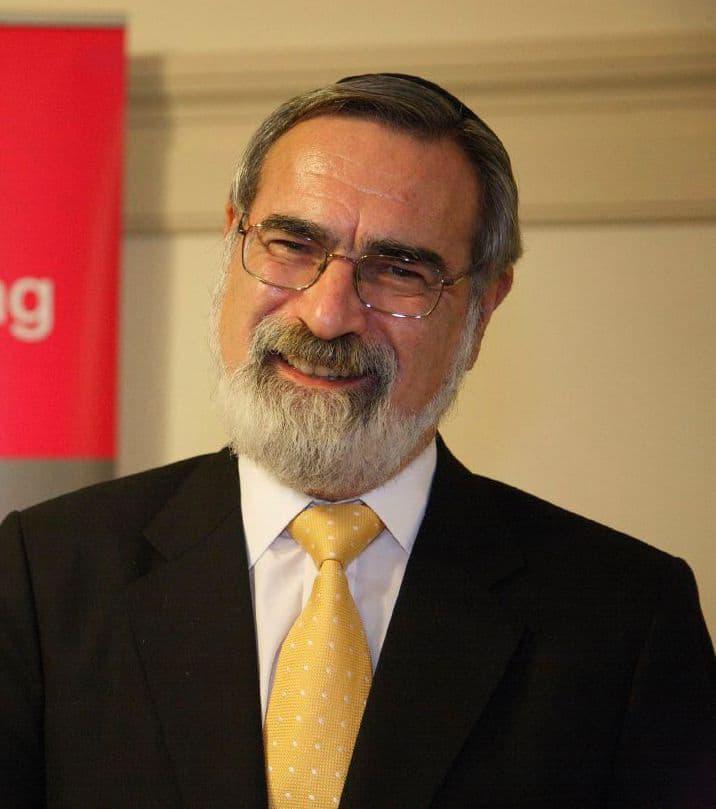 Sir Jonathan Sacks, Chief Rabbi of the UK, at National Poverty Hearing 2006 at Westminster, London. Creative Commons.