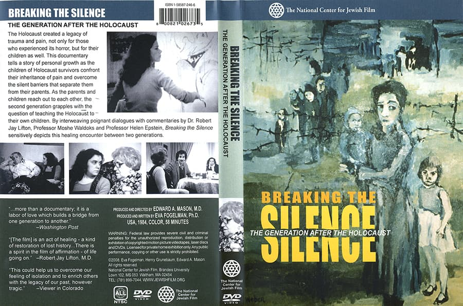 Breaking the Silence DVD. National Center for Jewish Film.