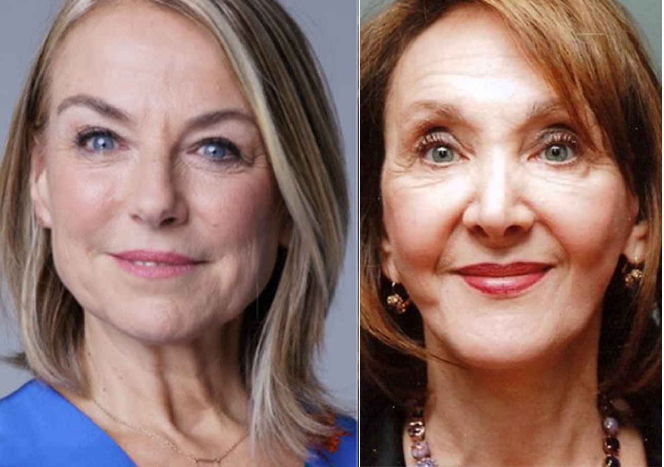 Esther Perel and Dr. Eva Fogelman