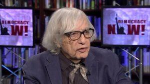 Dr. Robert J. Lifton. Courtesy Democracy Now!
