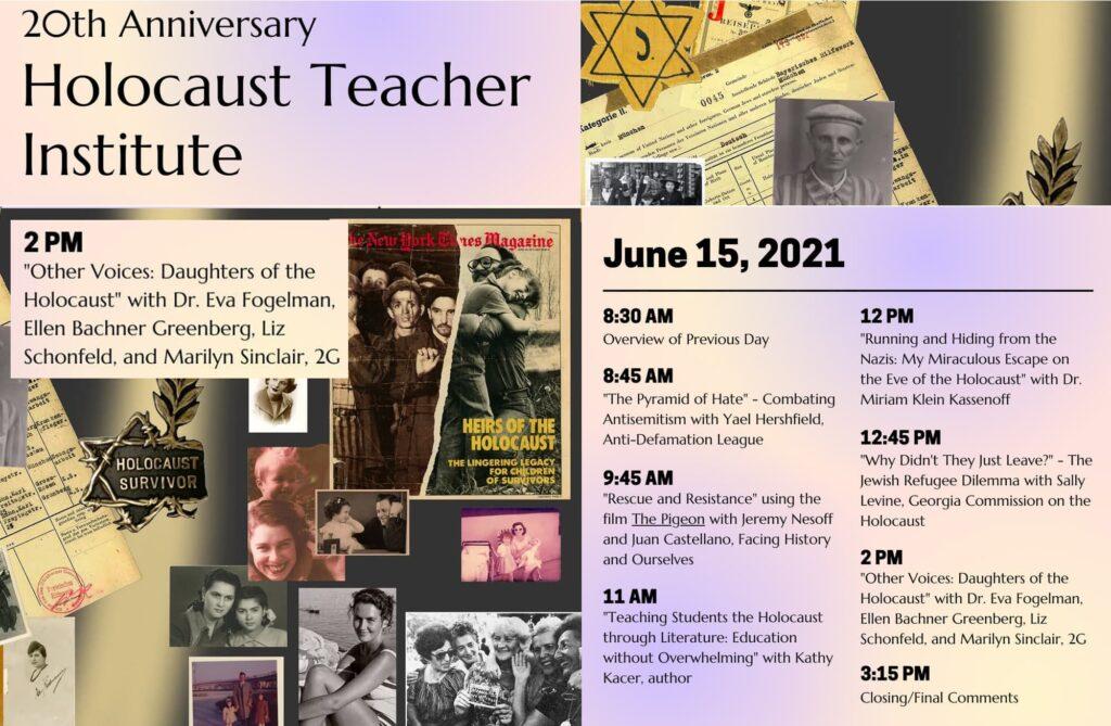 20th Annual Holocaust Teacher Institute | University of Miami