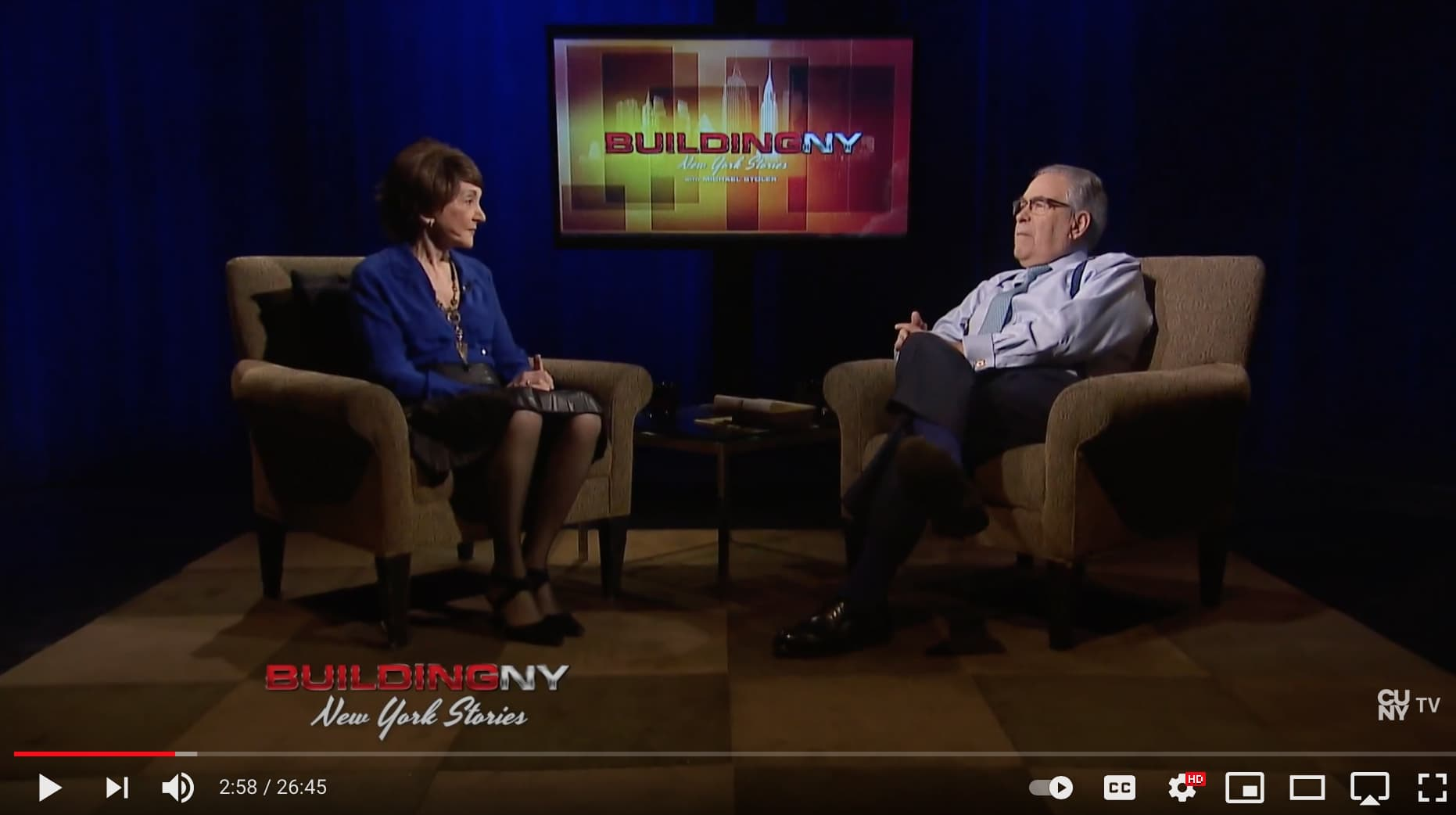 Building New York with Micheal Stoler.